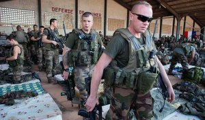 French soldiers in Bamako, the capital of Mali, on Jan. 14.
