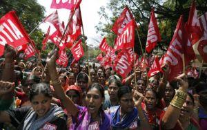 India general strike.