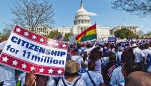 April 10 immigrant rights march in Washington, D.C.WW photo: Joseph Piette