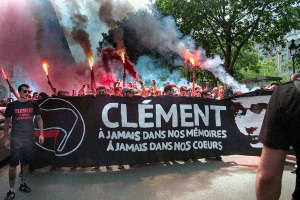 Banner reads: 'Clément — forever in our memories, forever in our hearts.'
