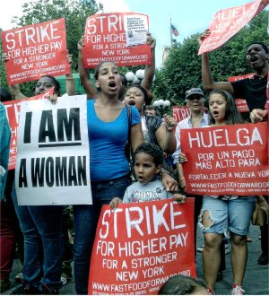 New York City's Union Square, July 29.WW photo: Teresa Gutierrez