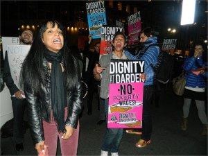 Darden workers demand justice, Oct. 30.