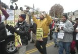 Members of the Boston Bus Drivers Union USW Local 8751