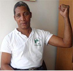 Jocelyn Lapitre, Guadeloupe union representative.