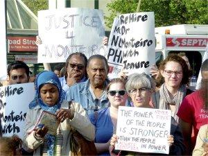 Rally at Temple University, May 8.WW photo: Joseph Piette