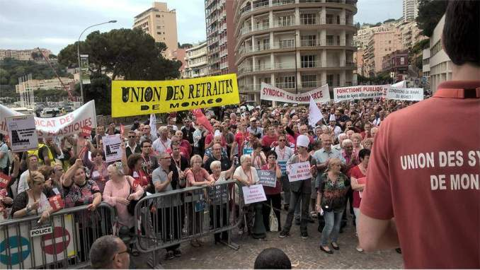 Workers in Monaco, a principality on the French seacoast, fight so that bosses can't fire them at will.