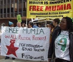 FIST at Philadelphia Mumia action in 2007.
