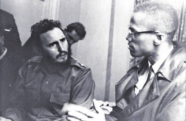 Fidel Castro and Malcolm X