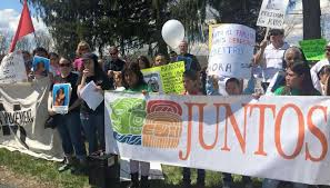 Mothers at Berks family detention camp launch work strike.