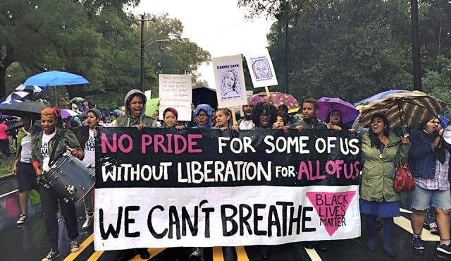 BLM queer and trans people of color contingent, Sept. 26.
