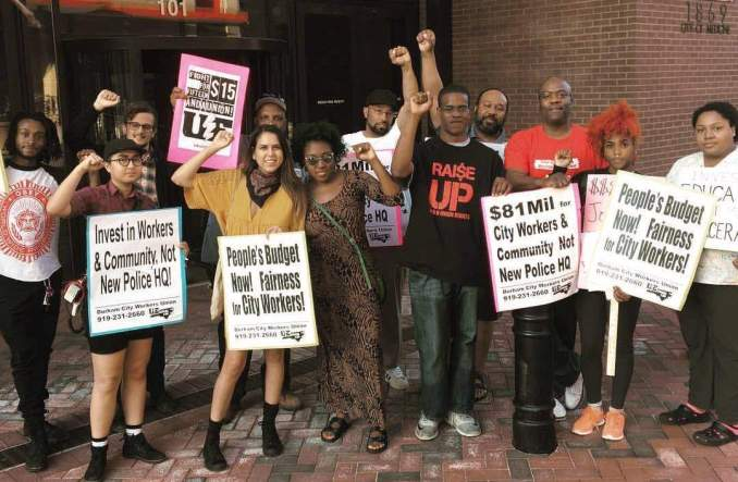 Durham, N.C., protest, May 16.
