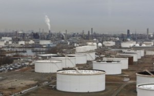 The former Exxon Mobil-owned Bayway Refinery in Linden, N.J. ConocoPhillips now operates the plant.