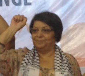 Leila Khaled, Palestinian freedom fighter .