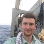 Caleb Maupin aboard the Iran Shahed Rescue Ship.