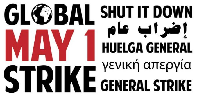 Image result for mayday general strike migrants