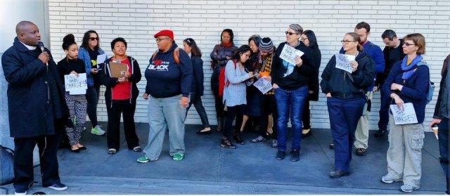 'Stop the prosecution.' Oakland, Calif., Nov. 19.