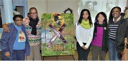 Delphine Matthews, Monica Moorehead, Rain Robbins Africa, Berta Joubert-Ceci and Ikea Coney speak at Philadelphia Black History Month Forum on Feb. 24.WW photo: Joseph Piette
