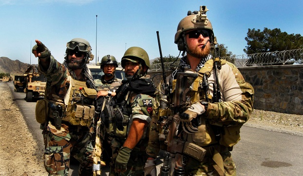 U.S. Special Forces in Iraq.