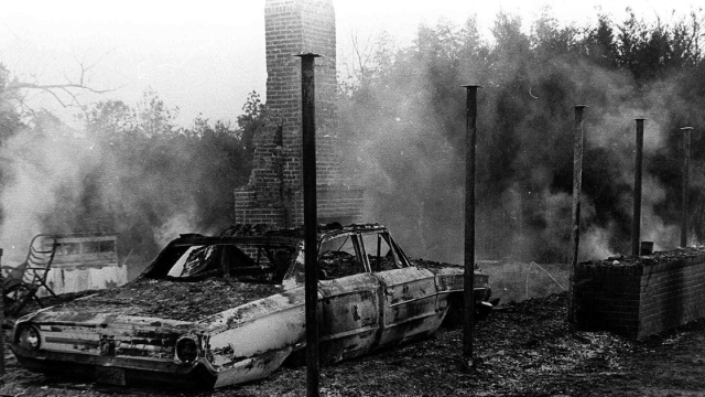 On Jan. 10, 1966, about 10 miles outside of Hattiesburg, Mississippi, the home of Vernon Dahmer was firebombed by the KKK.