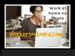 Work at home Jobs that do not require a land line phone