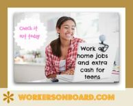 Work at home Jobs and ideas for teens to make money from home