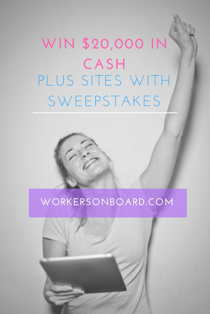 win  20 000 in cash plus sites with sweepstakes