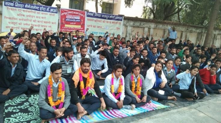 spark minda rudrapur workers indefinit strike