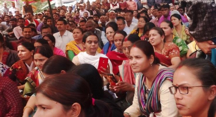 bihar education teachers strike