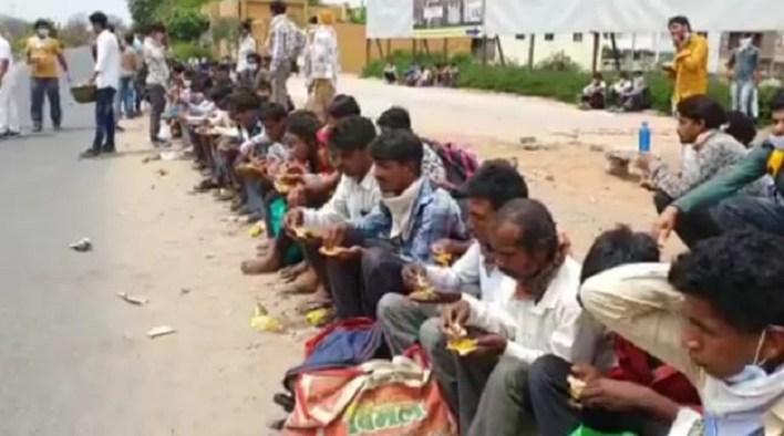 stranded workers in gujarat