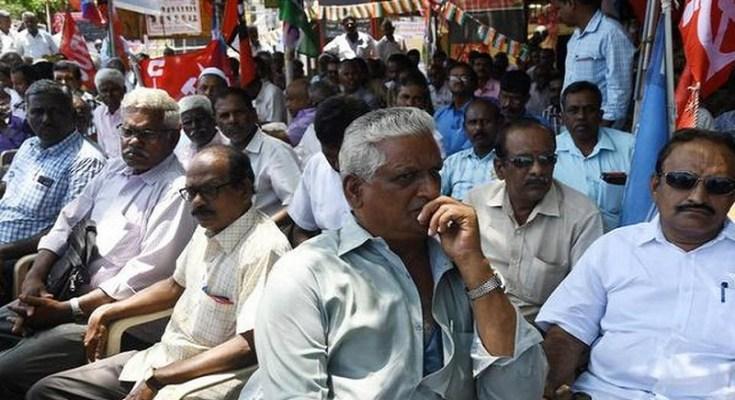 tamilnadu transport corporation employees strike