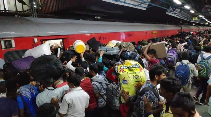 workers return from mumbai