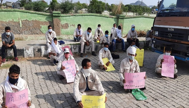 Photo of निसिन ब्रेक के मज़दूर भूख हड़ताल पर, आत्महत्या करने की मांगी इजाजत