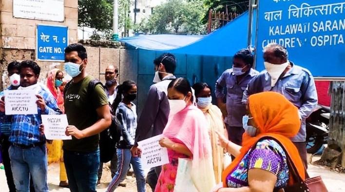 lady harding staff protest