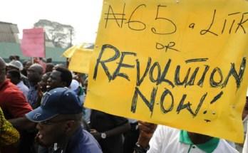 nigeria protest against petrol price hike