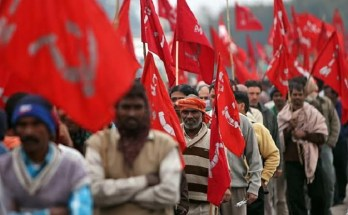 workers protest general strike