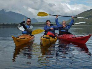 kayak with kids