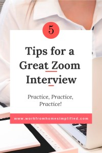 Tips for a Great Zoom Interview