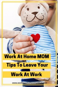Balancing work and family when you work at home