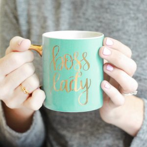 Sweet Water Decor Mint Boss Lady Mug