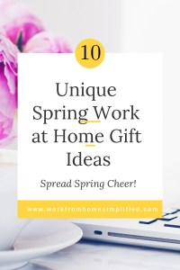 GIft Ideas for Spring