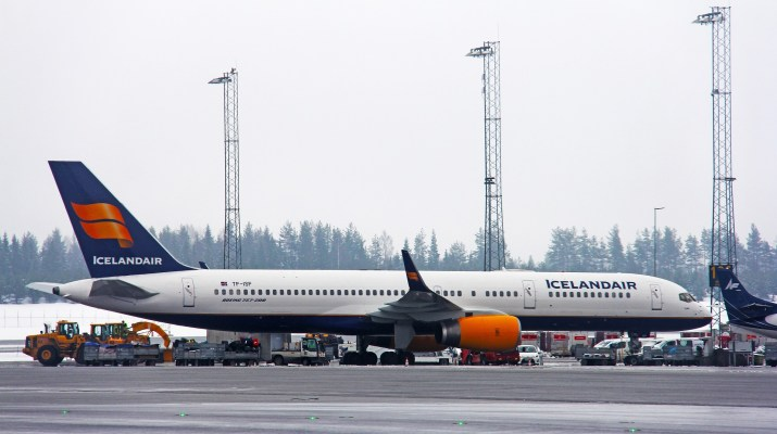 Iceland air review