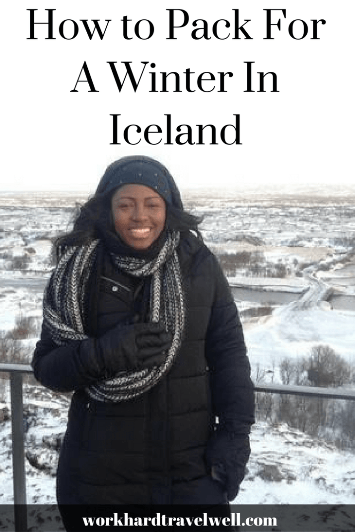 How to pack for a winter and frigid temperatures in Iceland!