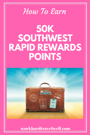 A look at how to earn quick Southwest Rapid Rewards Points!
