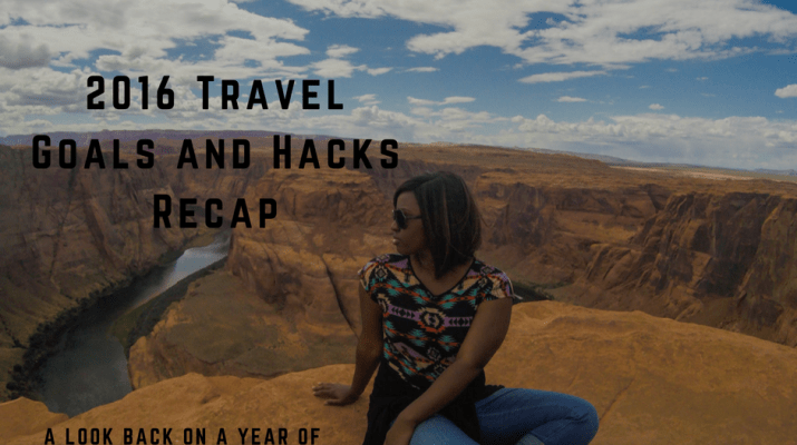 travel goals and hacks