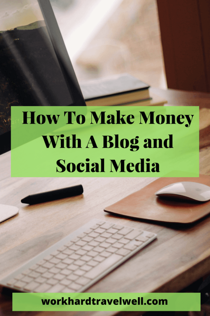 Check out the different ways to monetize your blog and social media!