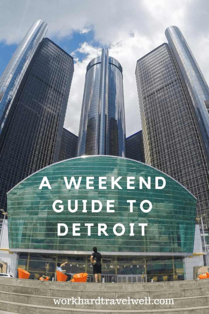 A visitor's guide to Detroit!