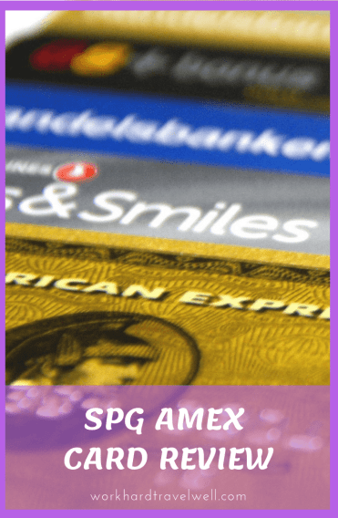 A review of the SPG AMEX card