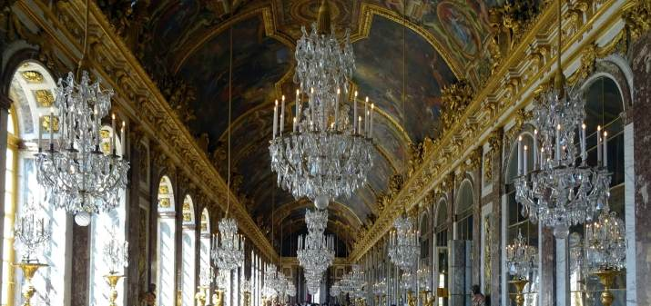 Hall of Mirror Palace of Versailles