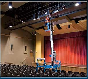 Genie Super Straddle Accessory Working At Height