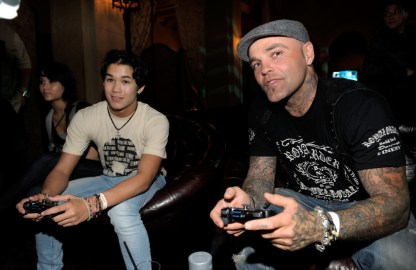 capcom-lost-planet-2-launch-party-booboo-steward-seth-shifty-binzer